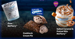 Featured image for McDonald's M'sia is selling new Salted Caramel & Pretzel Bits McFlurry desserts from 19 Aug 2021