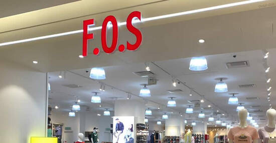 Featured image for F.O.S is offering 20% off on normal price items at all 23 F.O.S Klang Valley outlets till 19 Sep 2021