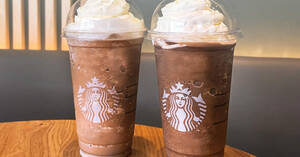 Featured image for Starbucks M'sia is offering 50% off second Frappuccino with purchase of any Frappuccino on 7 Oct 2021